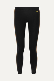 Bella Freud Billie Jean striped wool-blend leggings