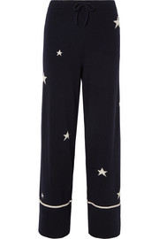 Chinti and Parker Star Pyjama-Hose aus Kaschmir
