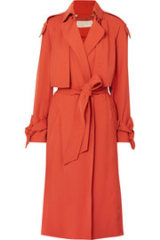 Belted cady trench coat