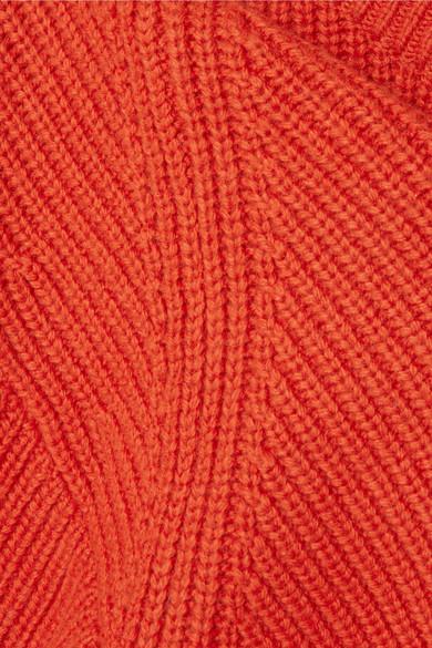 Michael Michael Kors Knits Ribbed-knit sweater