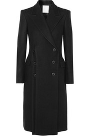 RŪH Double-breasted wool coat