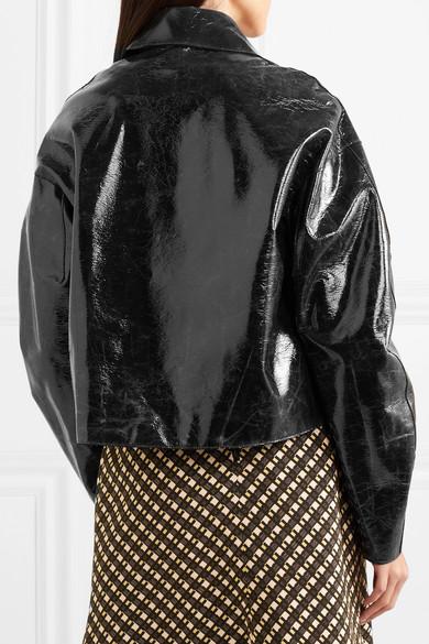 Jacke aus beschichteter Baumwollware Beschichtete