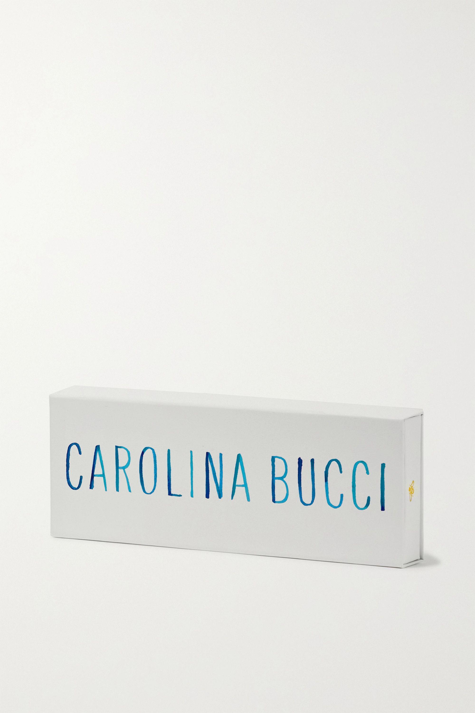 Carolina Bucci Love Lucky 18K 黄金真丝友谊手绳