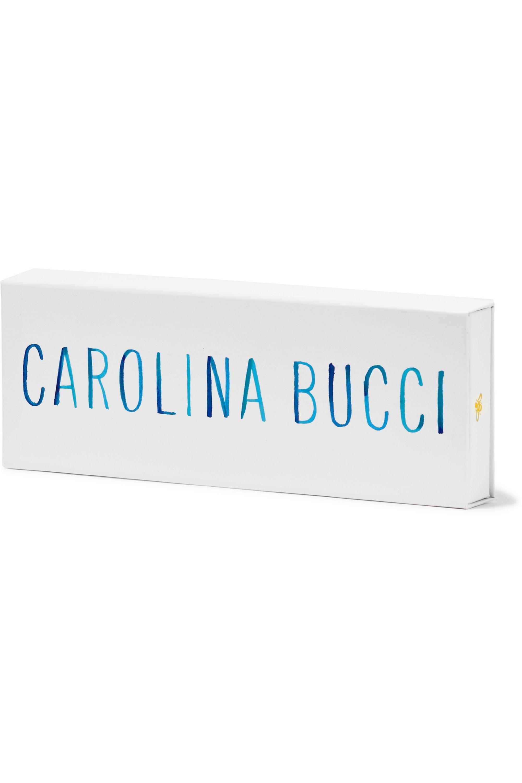 Carolina Bucci Wisdom Lucky 18K 黄金真丝手绳