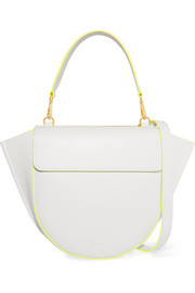 Wandler Hortensia medium neon-trimmed leather shoulder bag