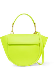 Wandler Hortensia mini neon leather shoulder bag