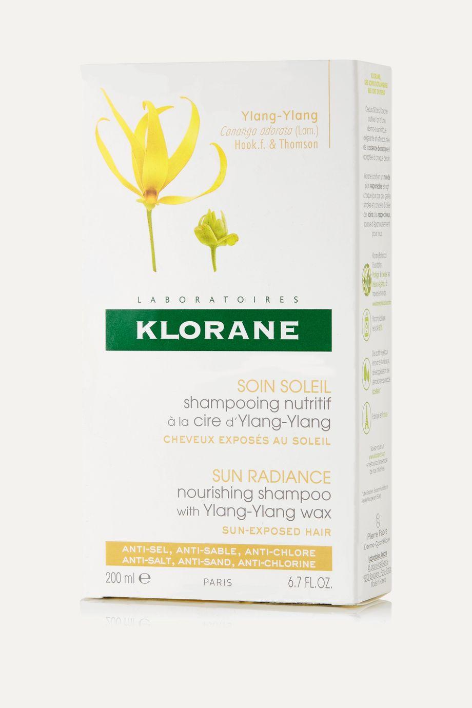 Klorane Sun Radiance Nourishing Shampoo, 200ml