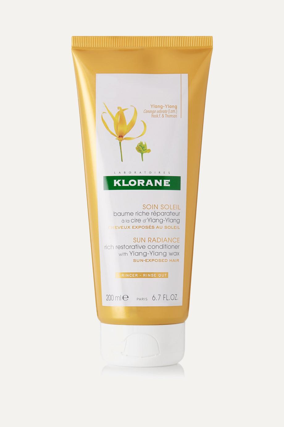 Klorane Sun Radiance Rich Restorative Conditioner, 200ml