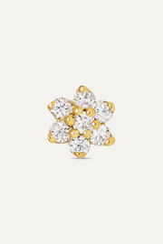 Maria Tash 4.5mm 18-karat gold diamond earring