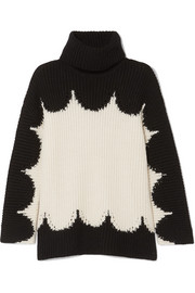 Valentino Oversized wool turtleneck sweater