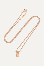 Repossi Antifer 18-karat rose gold necklace