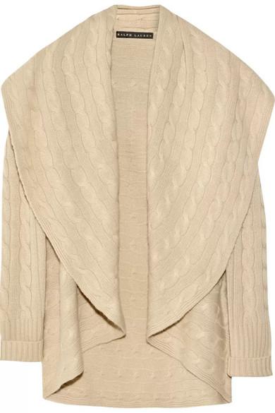 0ef3e22d82 Cable-knit cashmere cardigan