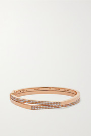 Antifer 18-karat rose gold diamond bracelet