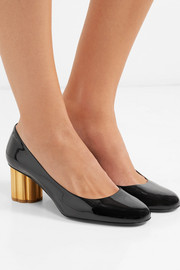 Lucca patent-leather pumps