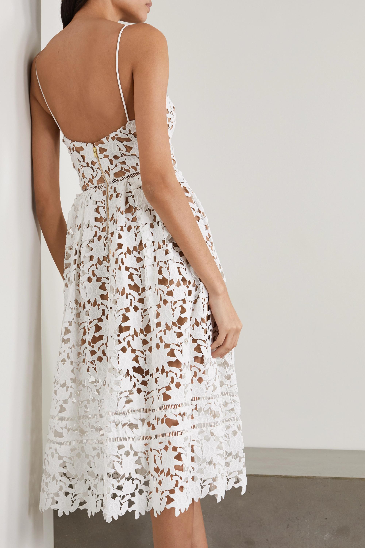 Self-Portrait Azaelea guipure lace dress