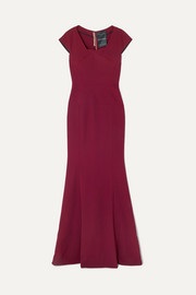 Sitobion crepe gown