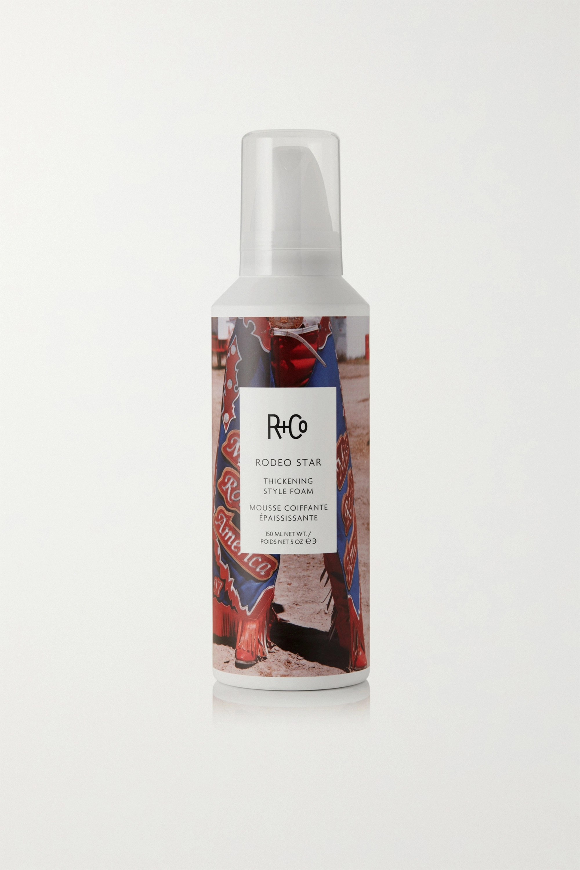 R+Co Rodeo Star Thickening Style Foam, 150ml