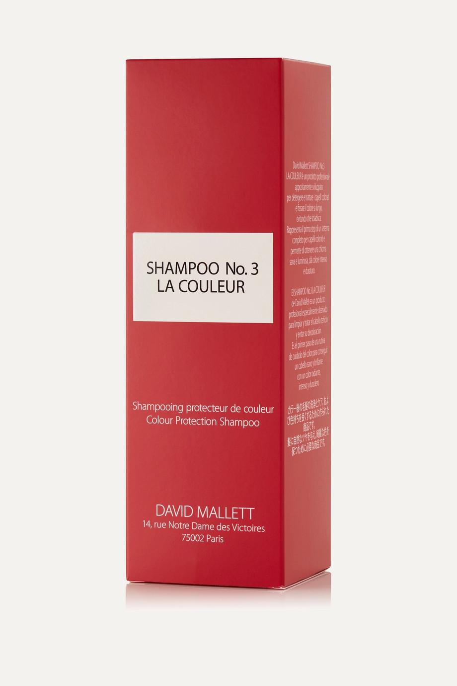 David Mallett Shampoo No.3: La Couleur, 250 ml – Shampoo für für coloriertes Haar