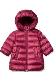 6 months - 3 years Majeure hooded quilted shell down coat