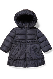 9 months - 3 years Vairea hooded quilted shell coat