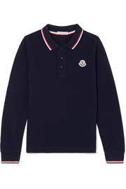 Ages 8 - 10 cotton-piqué polo shirt