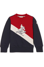 Ages 4 - 6 appliquéd cotton-jersey sweatshirt