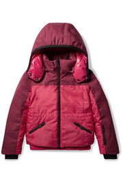 Ages 8 - 10 Laures color-block down ski jacket