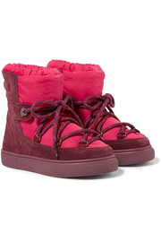 Size 26 - 36 Stephanie shell and suede snow boots