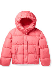 Ages 4 - 6 Caille hooded quilted shell down jacket