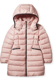 Ages 4 - 6 Charpal hooded quilted shell down coat
