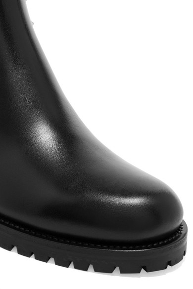 Valentino | Valentino Garavani Rockstud Leder Chelsea Boots aus Leder Rockstud acbdd2