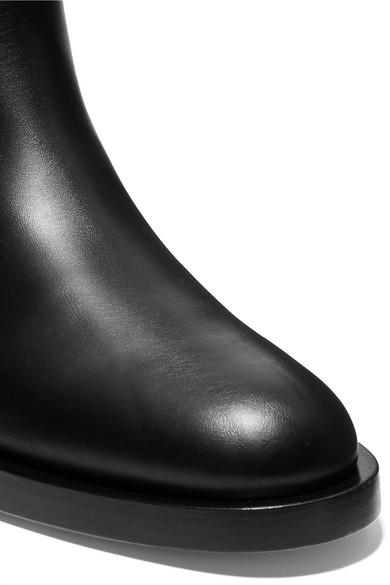 Valentino Stiefel | Valentino Garavani kniehohe Stiefel Valentino aus Leder mit Nieten f5bc42