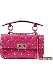 Valentino Valentino Garavani The Rockstud Spike small quilted leather shoulder bag