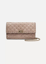 Valentino Valentino Garavani The Rockstud Spike quilted leather shoulder bag