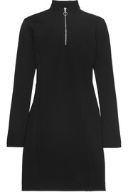 Ninety Percent Roma stretch-jersey turtleneck mini dress