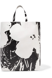CALVIN KLEIN 205W39NYC + Andy Warhol Foundation printed leather tote
