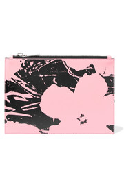 + Andy Warhol Foundation printed leather pouch