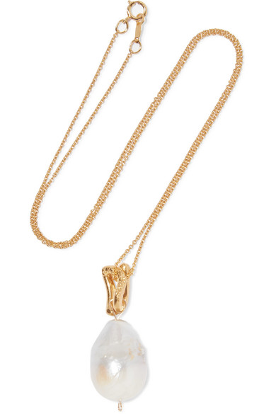 ALIGHIERI THE REMEDY CHAPTER I GOLD-PLATED PEARL NECKLACE