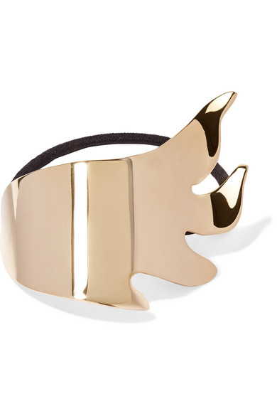 FLAMES GOLD-PLATED HAIR TIE