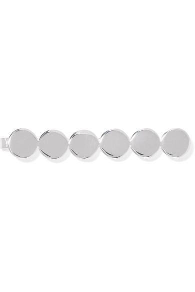 SASKIA DIEZ Paillettes Silver-Plated Hair Slide