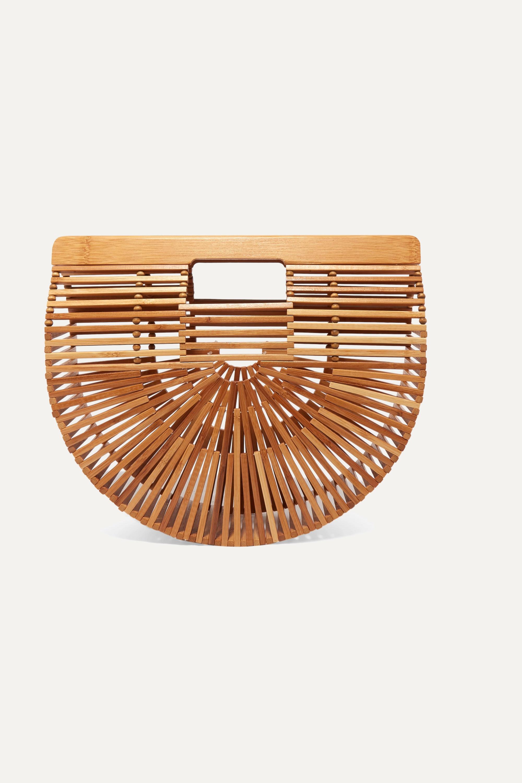Cult Gaia Ark small bamboo clutch