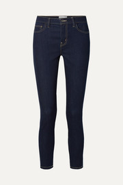 The High Waist Stiletto cropped skinny jeans