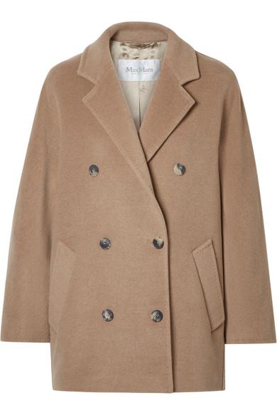Max Mara - Oversized Double-breasted Camel Hair Coat