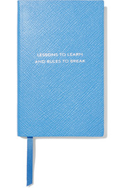 Panama Lessons To Learn and Rules To Break textured-leather notebook