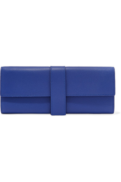 ffdeeab42aff Smythson. Grosvenor textured-leather jewelry case