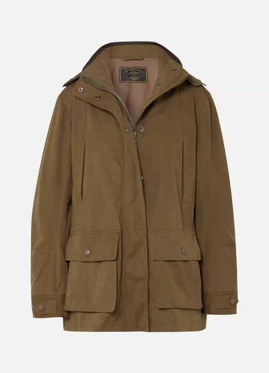 Woodcock Shell Hooded Coat by James Purdey & Sons