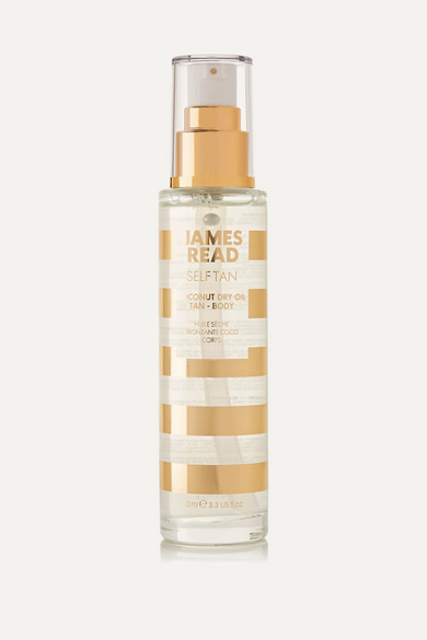 JAMES READ COCONUT DRY OIL TAN BODY, 100ML - COLORLESS
