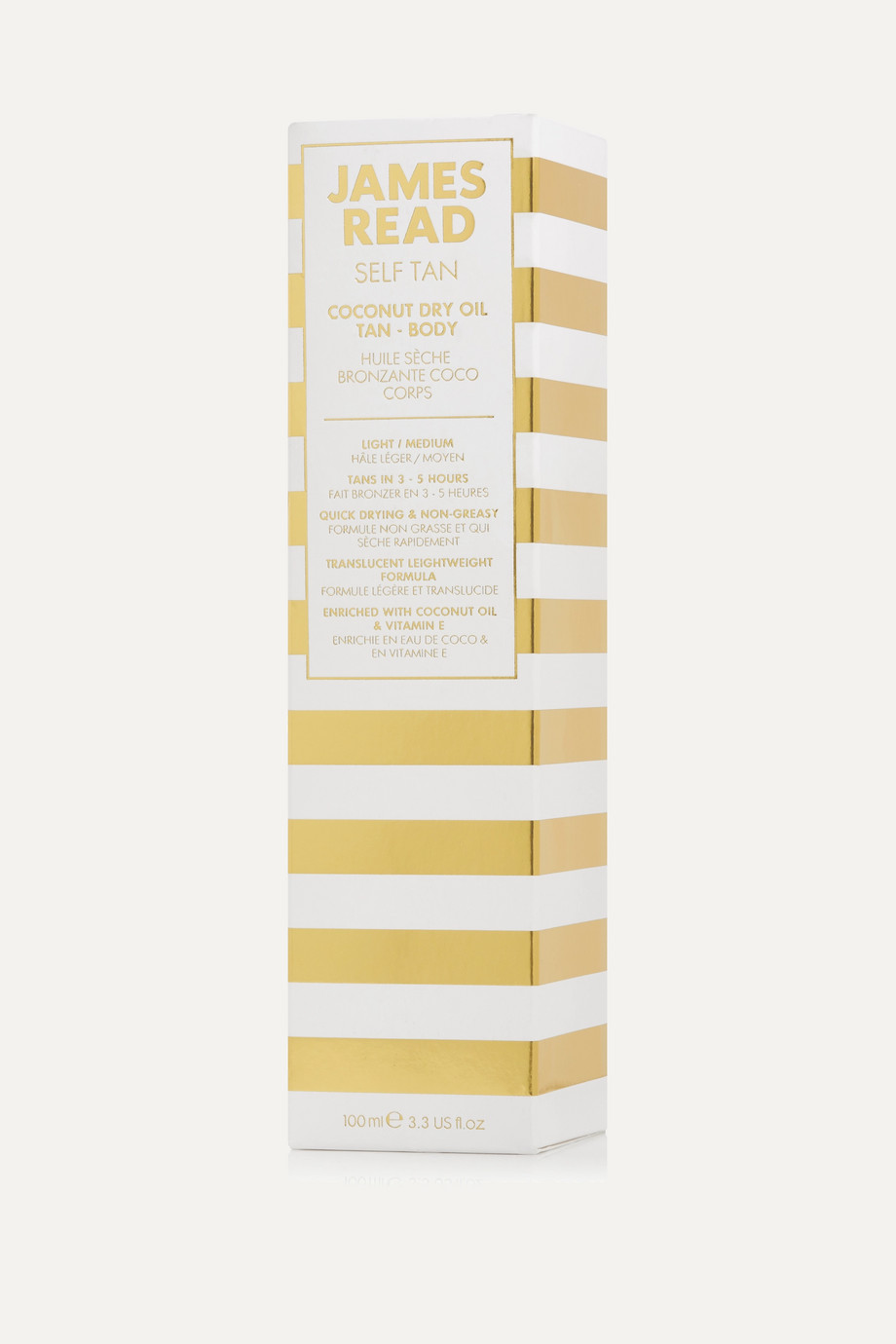 James Read Coconut Dry Oil Tan Body, 100ml