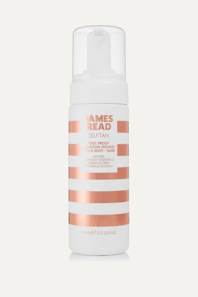 JAMES READ Fool Proof Bronzing Mousse Face & Body, 100Ml - Colorless