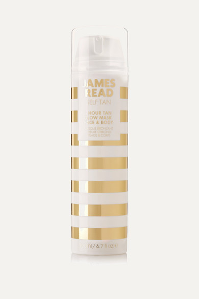 JAMES READ 1 HOUR TAN GLOW MASK FACE AND BODY, 200ML - ONE SIZE